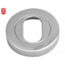 51mm CP Oval Hole Escutcheon