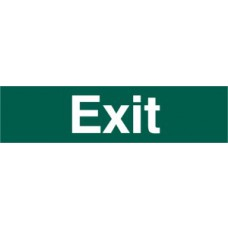 Exit (text only) - PVC (200 x 50mm)