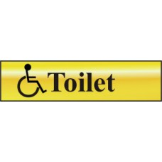 Toilet (with disabled symbol) - POL (200 x 50mm)