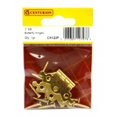 "50mm (2"") EB Butterfly Hinge (1 pair)"