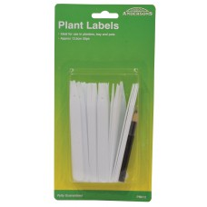 *TEMP OUT OF STOCK* 125mm Plant Labels with Pencil (Pack of 50)