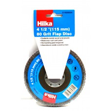 Hilka 115mm 80 grit Flap Disc (51808004)