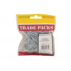"2"" x 6 ZP Pozi Twinthread C/Sunk Woodscrews Trade Packs (pack of 70)"