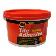EverBuild 3.75kg 703   Fix & Grout Tile Adhesive