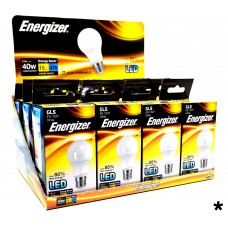 Energizer - LED Bulb - GLS 5.6W 470LM E27 Warm White