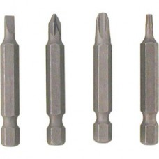 4 x 25mm Slot Screwdriver Bit (Pack of 3)