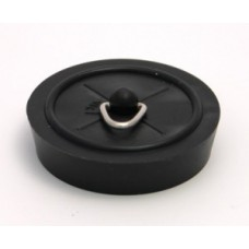 "1 3/4"" Black Sink/Bath Plug"