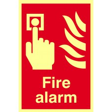 Fire alarm - PHS (200 x 300mm)