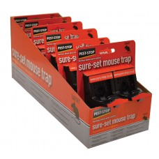Pest-Stop Sure-Set Plastic Mouse Trap x2