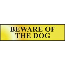 Beware of the dog - POL (200 x 50mm)