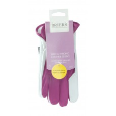 Super Soft and Strong Leather Glove (Medium) Magenta