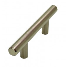T Bar Brushed Nickel 64mm