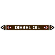 Flow Marker - Diesel Oil (Brown - 5 Pack)