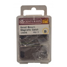 43mm Brown Small Magnetic Catch (Pack of 2)