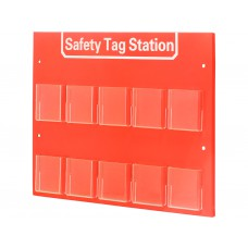 Filled 10 Tag Station