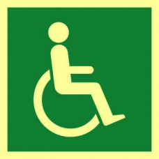 Disabled symbol - PHS (150 x150mm)