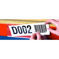 Ticket holders magnetic - 25 x 200mm (Pack 50)