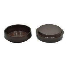 60mm Brown Castor Cups