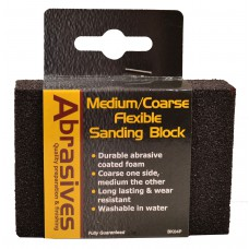 Medium/Coarse Flexible Sanding Block