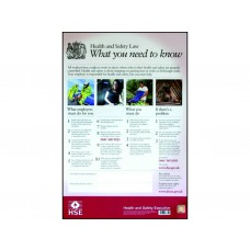 Health & Safety Law Poster - LAM (420 x 594mm)