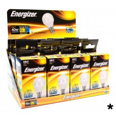 Energizer - LED Bulb - Golf 6W 470LM Opal E14 Warm White