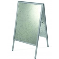 Silver A- Board Pavement sign A2 size