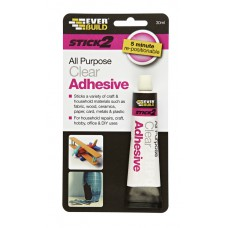 EverBuild 30ml All Purpose Clear Adhesive (DGN)