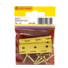 "2"" x 1 1/8"" x 1.5mm SC Medium Duty Solid Drawn Butt Hinges (1 pair)"