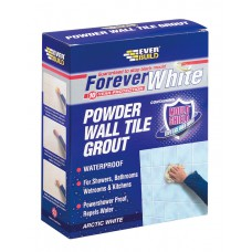 EverBuild 1.2kg Forever White Powder Wall Tile Grout