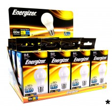 Energizer - LED Bulb - GLS 9W 806LM E27 Warm White