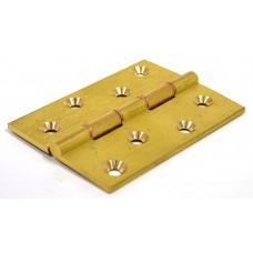 "4"" x 3"" x 3.5mm SC Medium Duty Solid Drawn Butt Hinges DPBW (1 pair)"