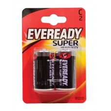 Eveready - Super Zinc Batteries - S3952 C x 2