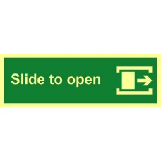 Slide to open (right) - PHS (300 x 100mm)