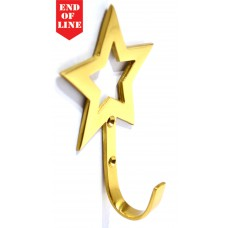70mm x 110mm PB Star Tassel Hook (Pack of 2)