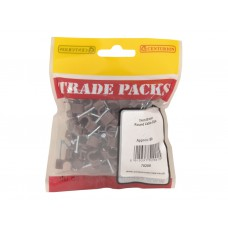 Cable Clips - Brown Round - 7mm (80 PK)