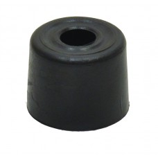 28mm Black Plastic Door Stop