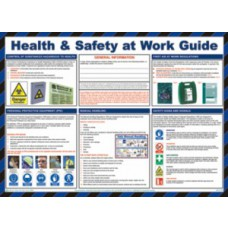 Safety Poster - Health & Safety at Work Guide