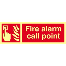 Fire alarm call point - PHS (300 x 100mm)