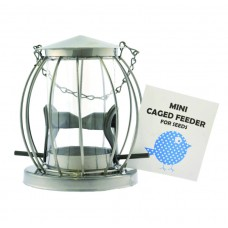 Mini Caged Seed Feeder