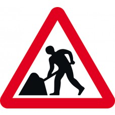 600mm tri Temporary sign - Men at Work