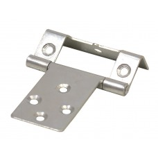 "16mm (5/8"") ZP Single Cranked Flush Hinge (1 pair)"
