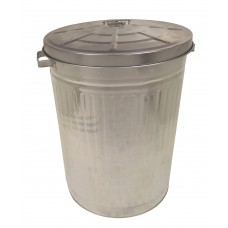 "18"" Galvanised Dustbin"