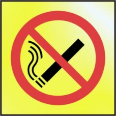 No smoking symbol - POL (100 x 100mm)