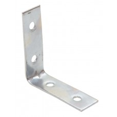 50mm ZP Corner Brace (Pack of 2)