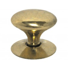 "12mm (1/2"") PB Victorian Cupboard Knob"