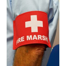 Fire Marshal Armband (Red)