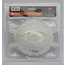 * TEMP OUT OF STOCK * FFP3 Moulded Valve Dust Mask 2pk