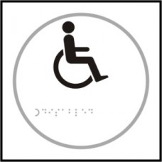 Disabled symbol - Taktyle (150 x 150mm)