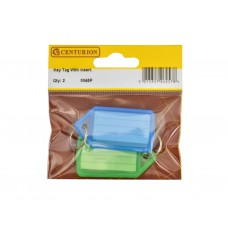 Key Tag With Insert (Pack of 2)