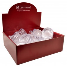 Display Box Deal - 45mm Clear Castor Cups